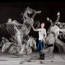 Sally & Ted are supporting Amy Goodman: the Equine Sculpture of the year 2013