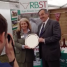 Cheshire show president of the NFU Countryside Champions award by Meurig Raymond the President.